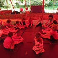 Photos séjour arts du cirque à Montbrun du 24 au 28 juillet 2012