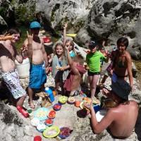 Séjour canoë-kayak en itinérance dans les Gorges du Tarn du 15 au 19 juillet 2012