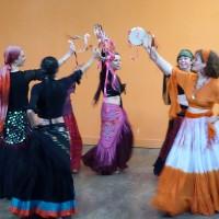 L'atelier danse orientale a recommencé