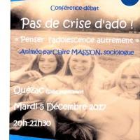 Conférence débat sur l'adolescence